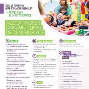 Formation Vivre et grandir ensemble pour les professionnels de l'enfance